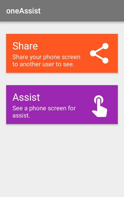 Android Telefonda Ekran Paylaşımı – oneAssistant