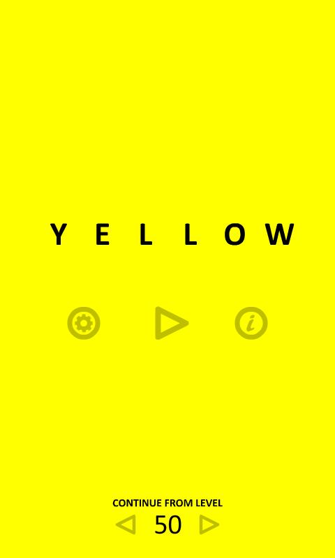 Android Bulmaca ve Zeka Oyunu – Yellow