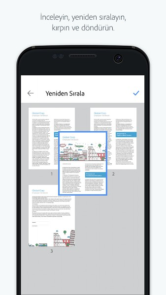 Android Kamera ile PDF Tarayıcı – Adobe Scan