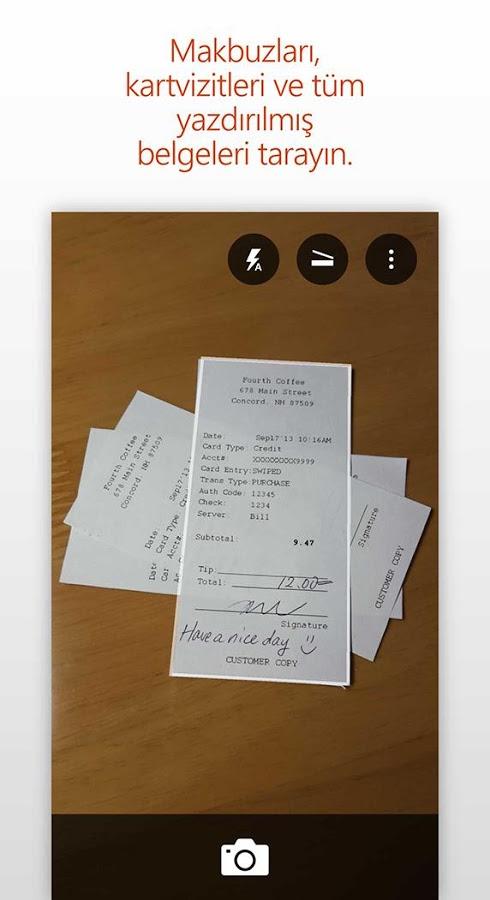 Resimdeki Yazıları Word Dosyasına Dönüştürme – Office Lens