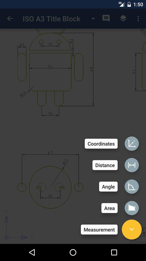 Telefonda CAD Çizim Dosyalarını Açın – GnaCAD
