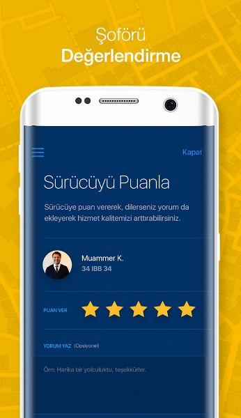 Taksi Çağırma Uygulaması – iTaksi Android