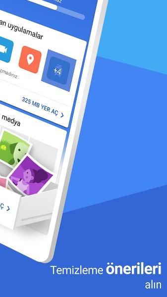 Telefonda Yer Açmak için Google File Go Uygulaması