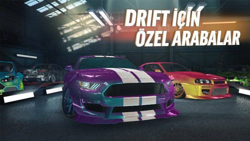Drift Yarışı Android Oyunu – Drift Max Pro
