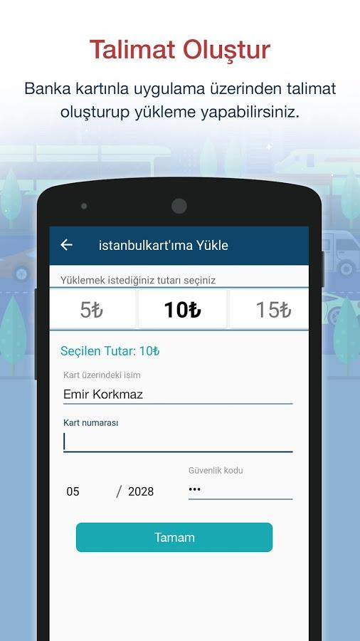 Akbil Android Uygulaması – İstanbulkart