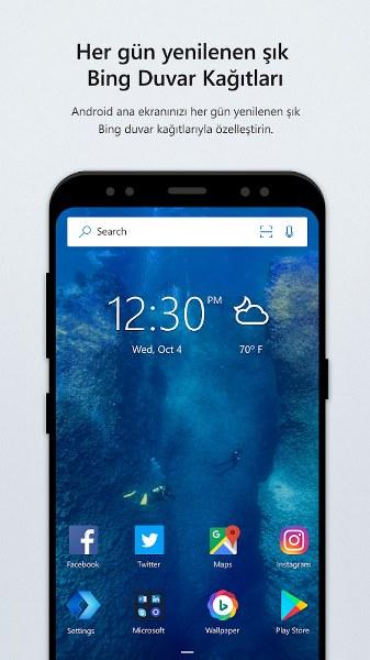 Android Tema ve Başlatıcı – Microsoft Launcher