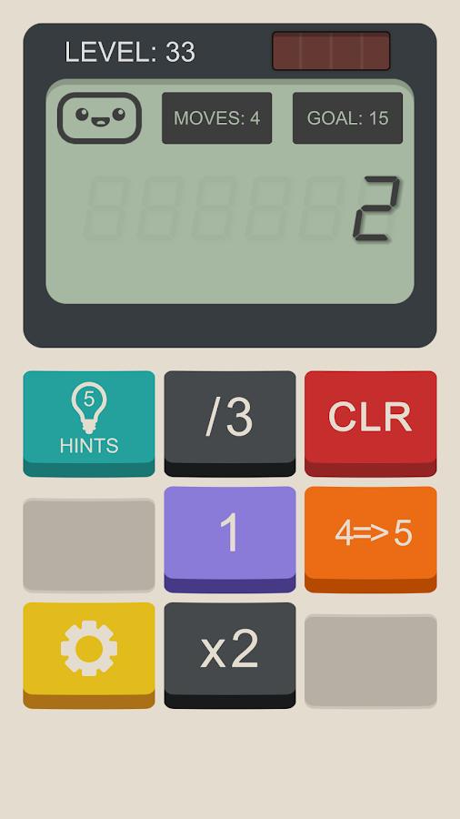 Hesap Makinesi Oyunu – Calculator: The Game