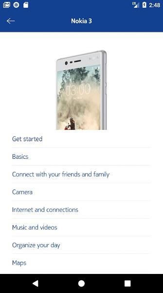 Nokia Teknik Destek Android Uygulaması