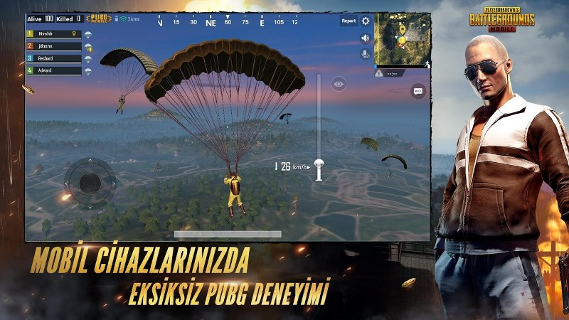 Adada Savaş Oyunu – PUBG Mobile Android
