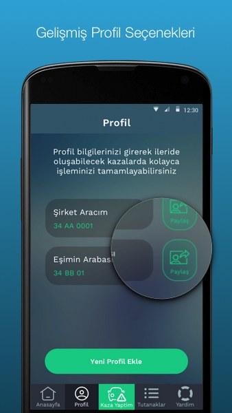Mobil Kaza Tutanağı Android