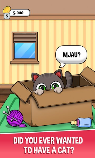 Sanal Kedi Oyunu – Oliver Android