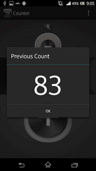 Android Telefon için Sayaç Uygulaması