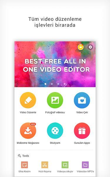Android Video Düzenleme Uygulaması