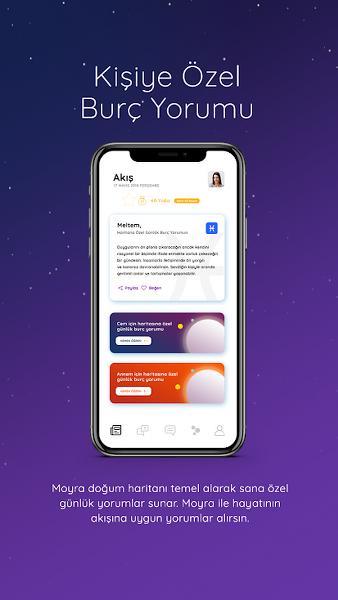 Astroloji ve Burçlar Android Uygulaması – Moyra