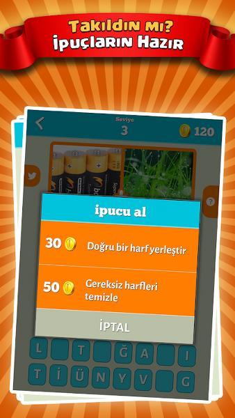 2 Resim 1 Kelime Android Bulmaca Oyunu