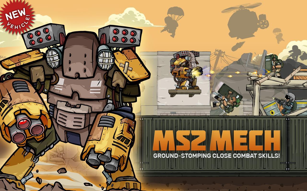 Android Savaş Oyunu – Metal Soldiers 2