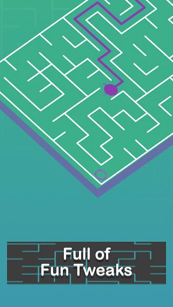 Telefonda Labirent Oyunu – Maze Walk
