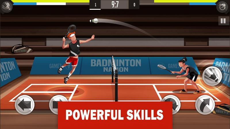 Android Badminton Oyunu
