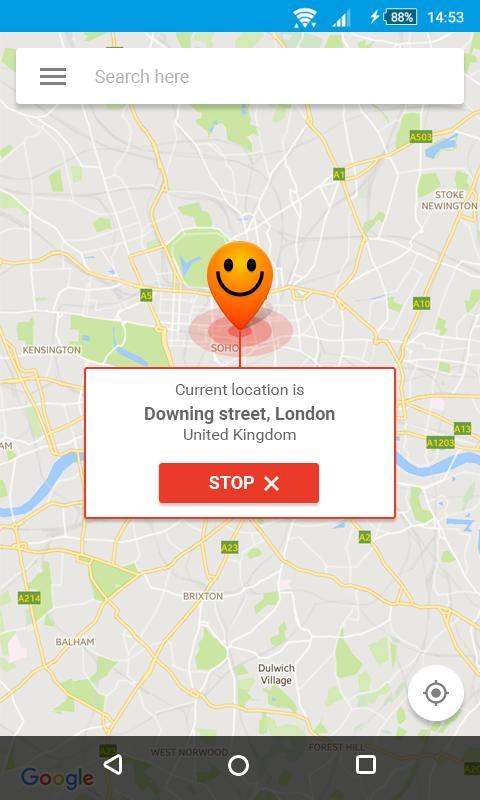 Sahte Konum ve GPS için Android Uygulaması