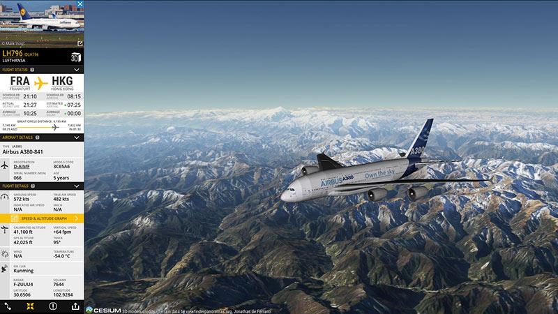 Flightradar24 – Canlı Uçak Trafiği
