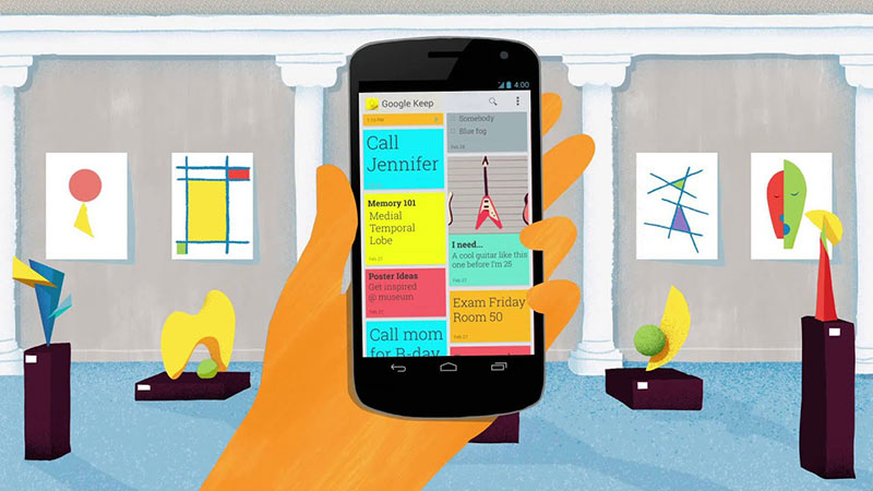 Renkli Notlar ile Android Not Defteri Uygulaması