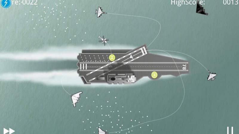 Hava Trafik Kontrol ve Uçak İndirme Oyunu