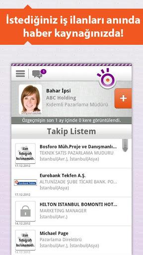 Kariyer.net ile Android Telefonunuzdan İş Arayın