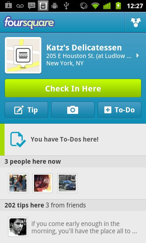 Foursquare – Yer Paylaşım Sosyal Uygulaması (Türkçe)