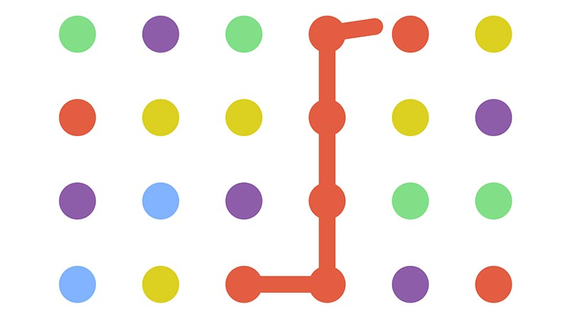 Renkli Topları Birleştirme Oyunu