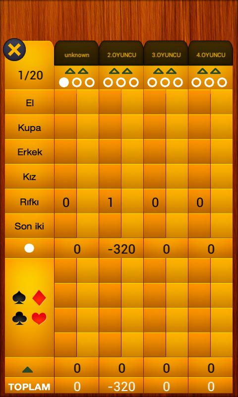 King – Android İskambil Oyunu