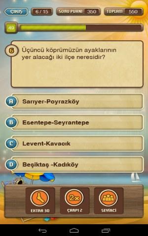 Kim Bilir – Android Bilgi Yarışması