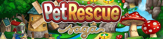Pet Rescue Saga – Hayvan Kurtarma Oyunu