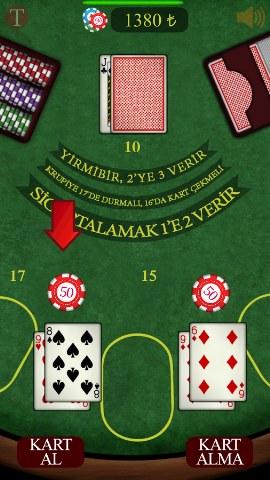 Yirmibir – Android Blackjack Oyunu