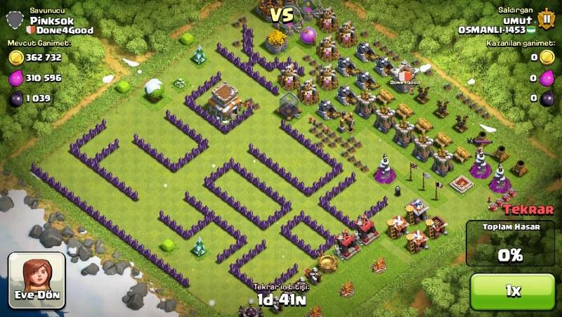 clash of clans köyüm yüklenmiyor