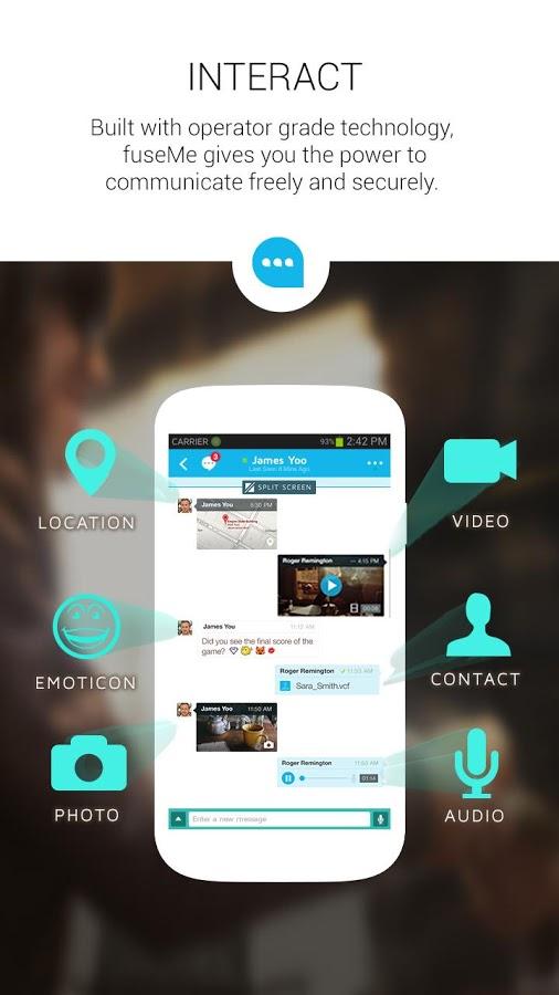 fuseme-android-mesajlasma-2