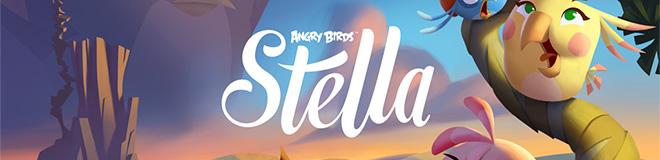 Rovio'dan Seriye Yeni Oyun: Angry Birds Stella