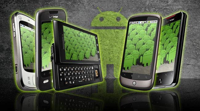 android-telefonlar