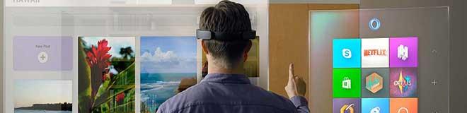 Microsoft'tan Hologramlı Sanal Gözlük – Microsoft HoloLens
