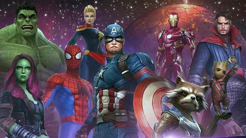 Marvel Şampiyonlar Turnuvası Telefon Oyunu