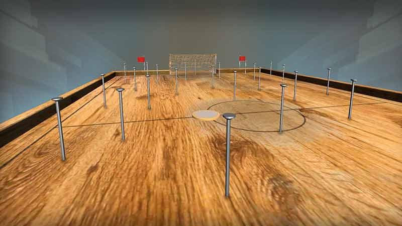 Woodball – Masada Parmak Futbolu
