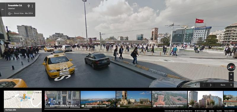 Türkiye Sokaklarını Bilgisayarınızdan Dolaşın Google Maps Street