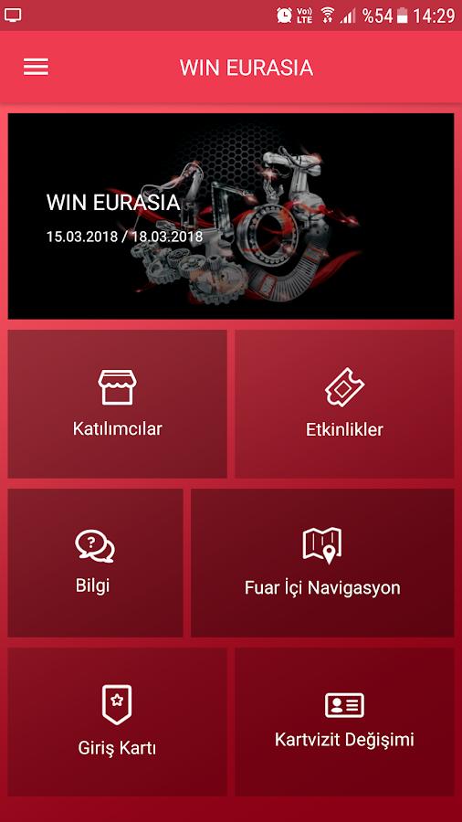 Fuar Uygulaması – WIN EURASIA