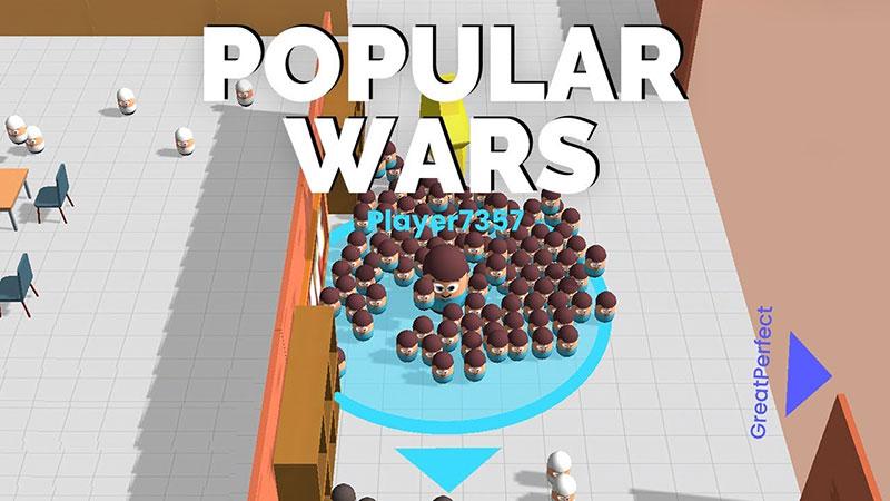 Diğer Oyuncuları Yiyerek Büyüyün – Popular Wars