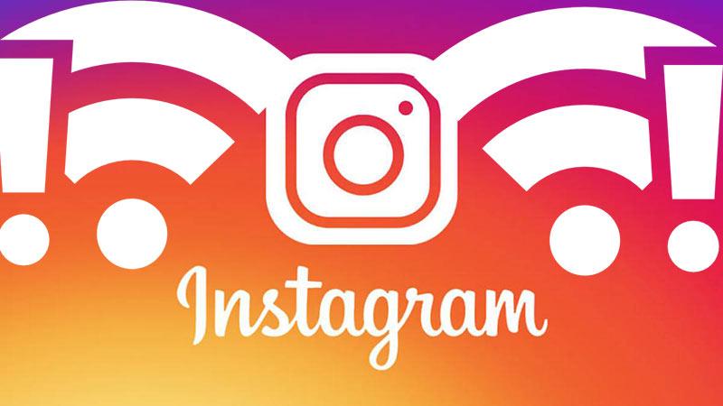 Instagram Bağlantı Sorunu veya Yavaşlaması