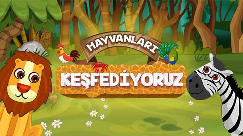 TRT Çocuk Hayvanları Keşfediyoruz Oyunu