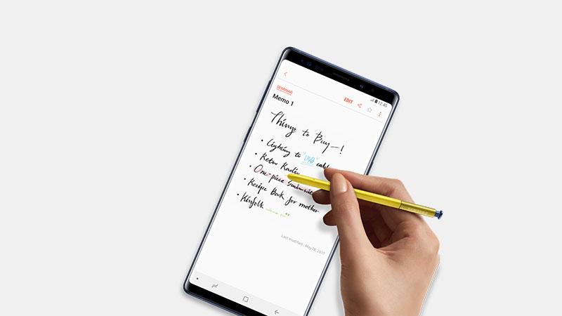 Samsung Telefonlar için Not Defteri