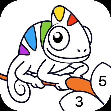 Sayılarla Boyama Oyunu – Chamy