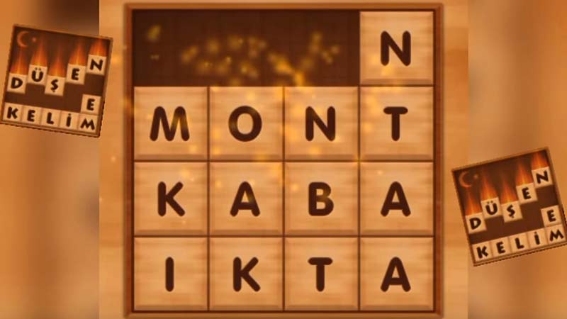 Düşen Kelimeler Android Kelime Bulmaca Oyunu