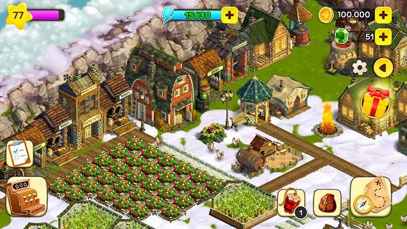 Farmville Benzeri Çiftlik ve Kasaba Oyunu