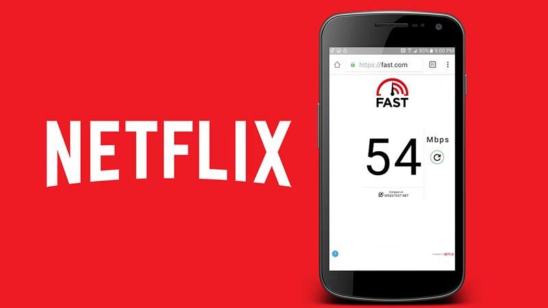 İnternet Hız Testi Uygulaması – Netflix / Fast